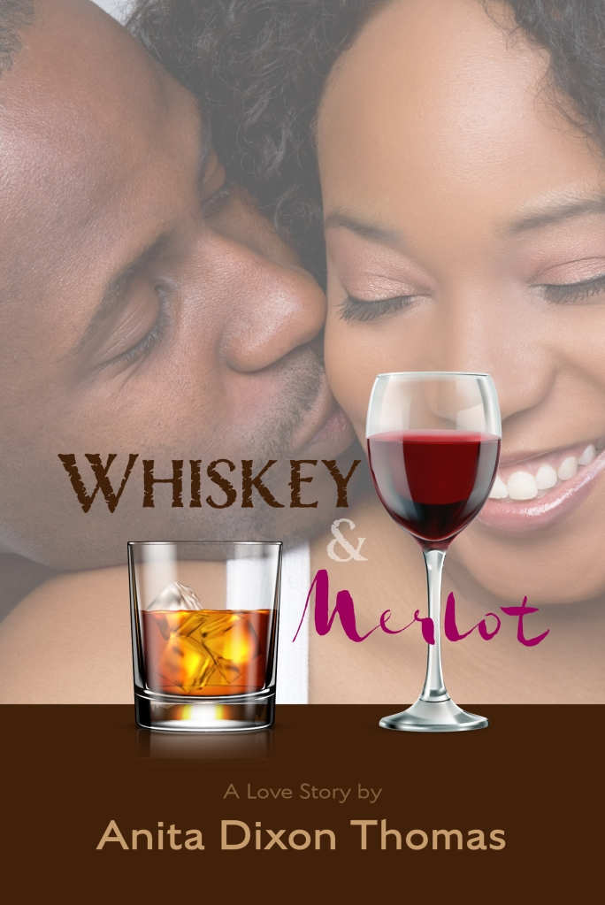 Front Cover Of the Novel Whiskey And Merlot